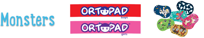 Monsters ORTOPAD® Boys/Girls